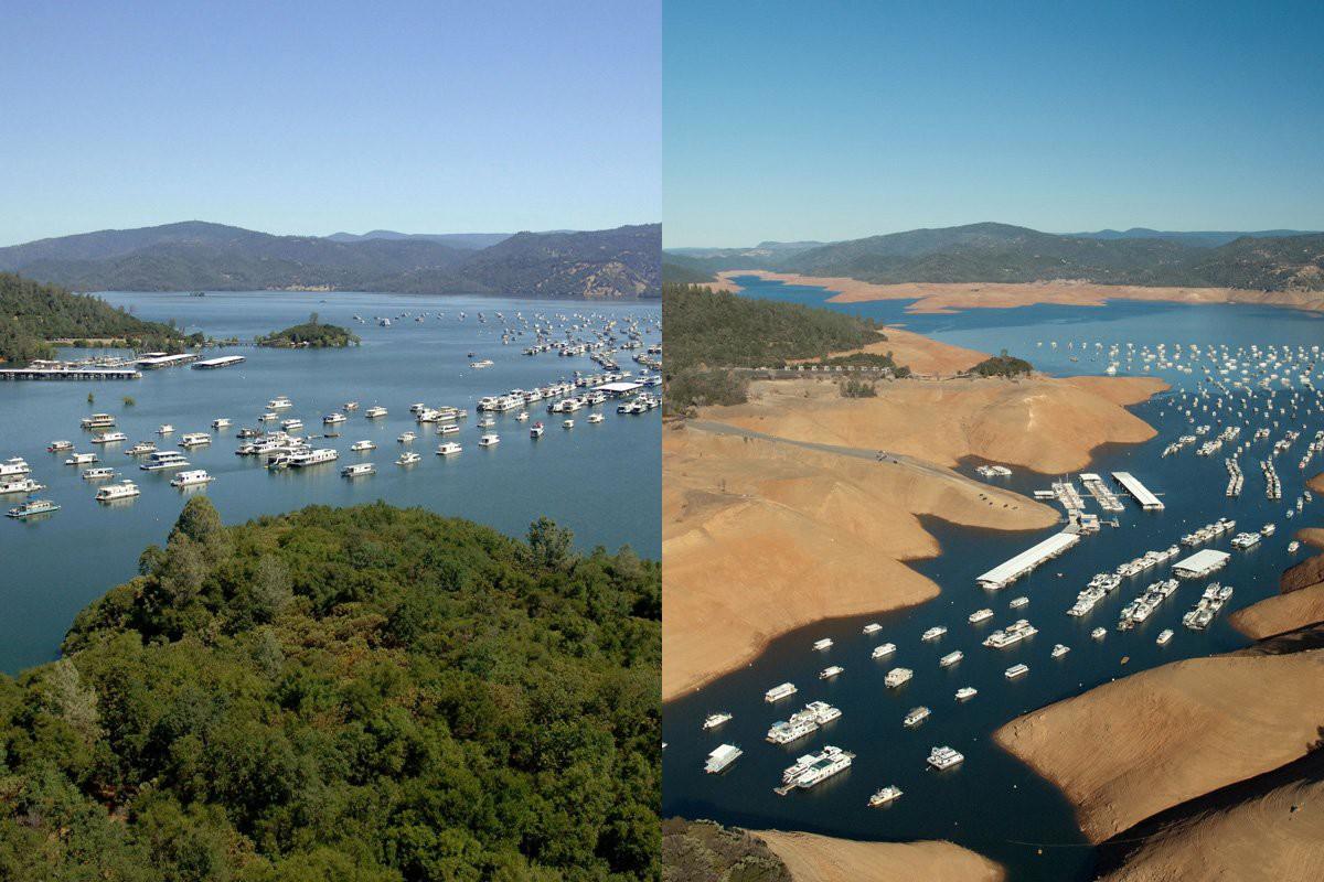 Озеро Оровилл, Калифорния история, факты