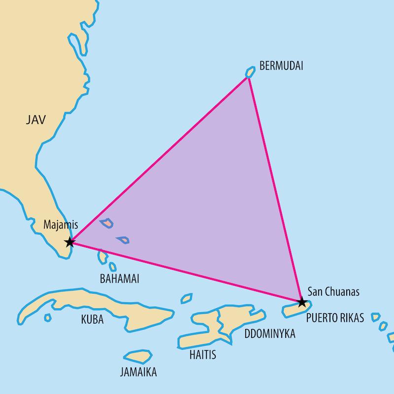 Удивительное о Бермудском треугольнике