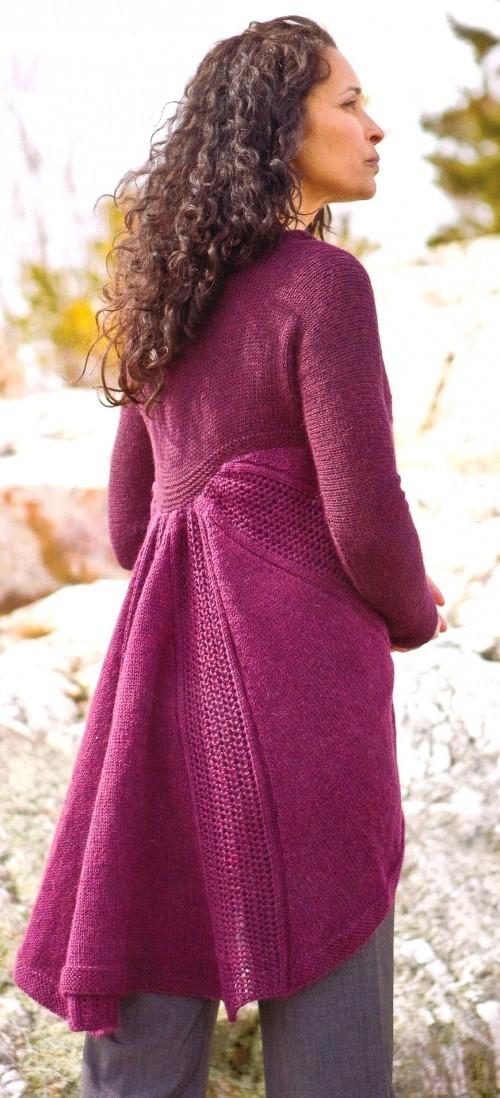 Вязаное пальто: Must Have бабьего лета