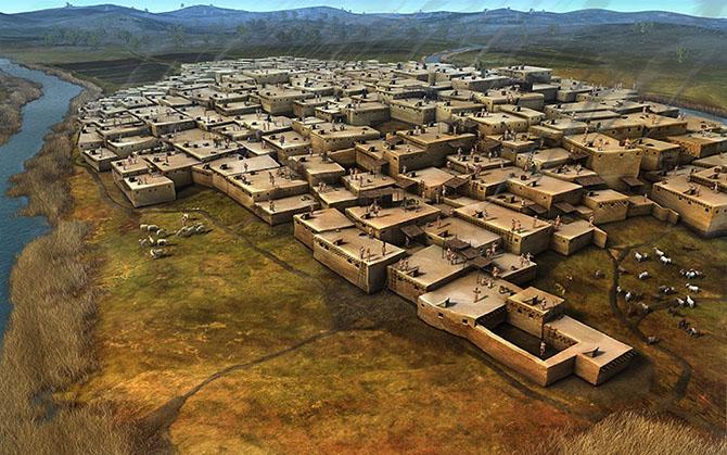 Загадочные разрушенные города