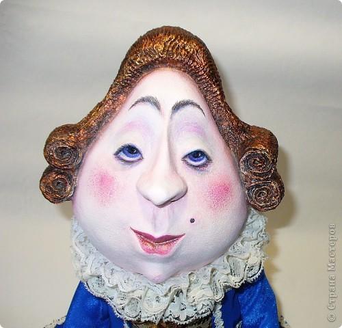 Куклы Папье-маше мусье Бэзэ Эклер Ткань фото 3