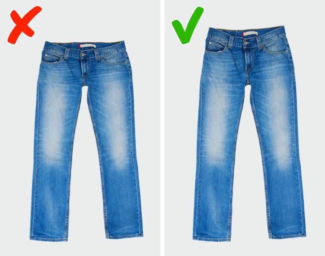 6 ошибок при покупке джинсов, из-за которых они плохо сидят на вас