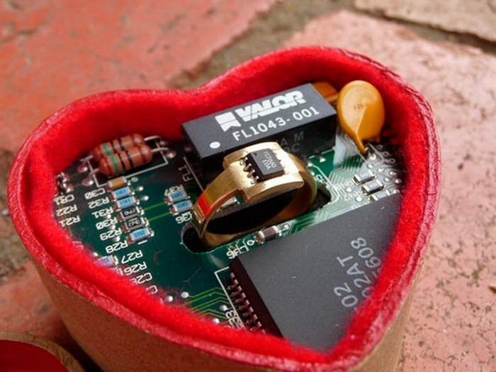Кольцо для настоящих инженеров-физиков диза, кольцо, креатив