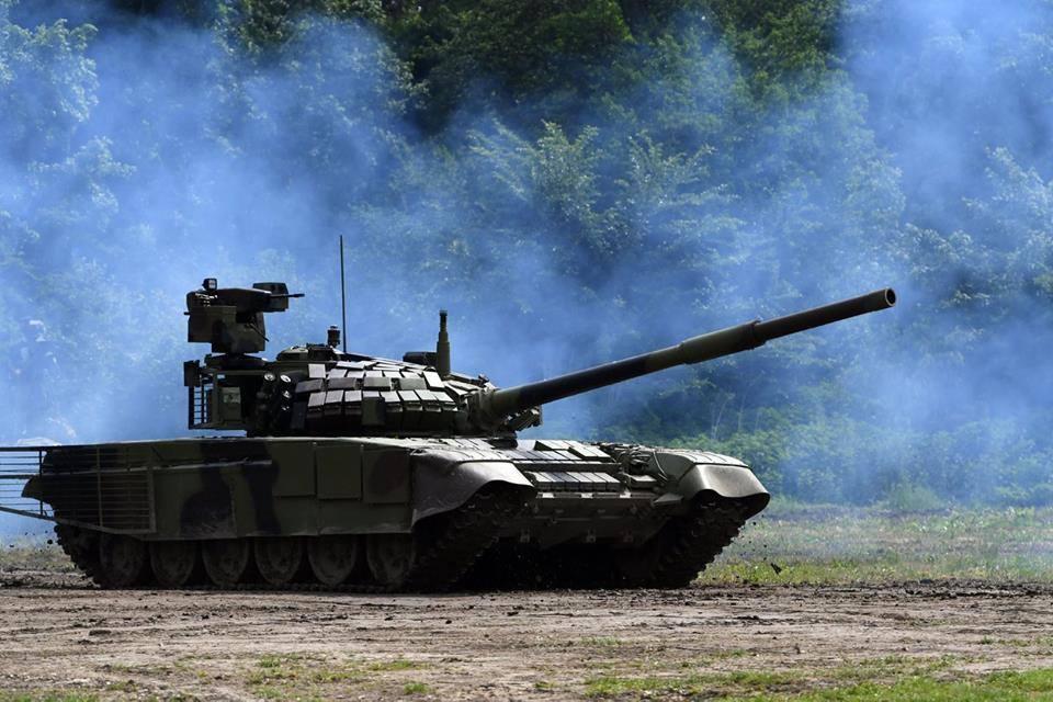 Представлена новая сербская модификация танка М-84
