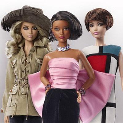 Барби оделись в одежду от Yv…