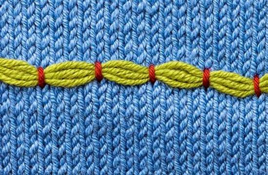 Простая вышивка по трикотажу (подборка)