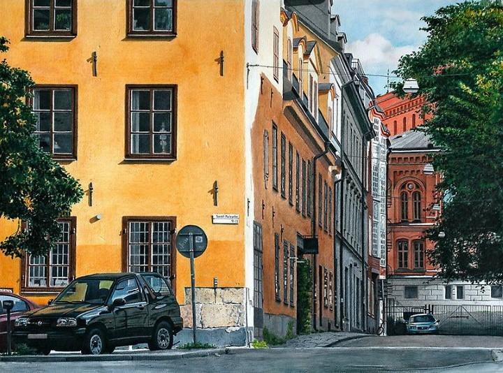 Художник фотореалист Johannes Wessmark