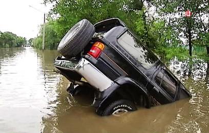 Пенсионер погиб во время паводка в Уссурийке