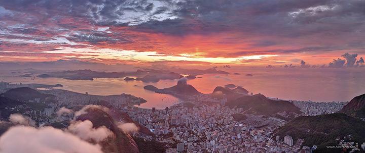 Рио-де-Жанейро на закате