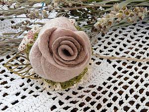 Создаем розу в техниках сухо…