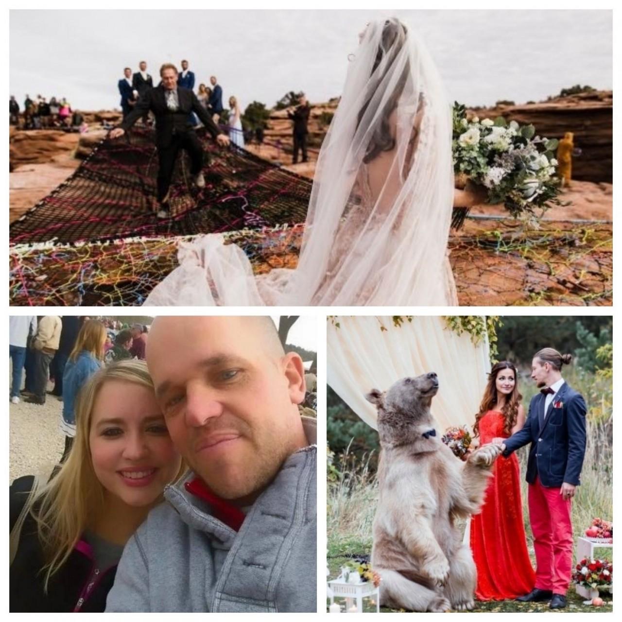 Три самых необычных свадебны…