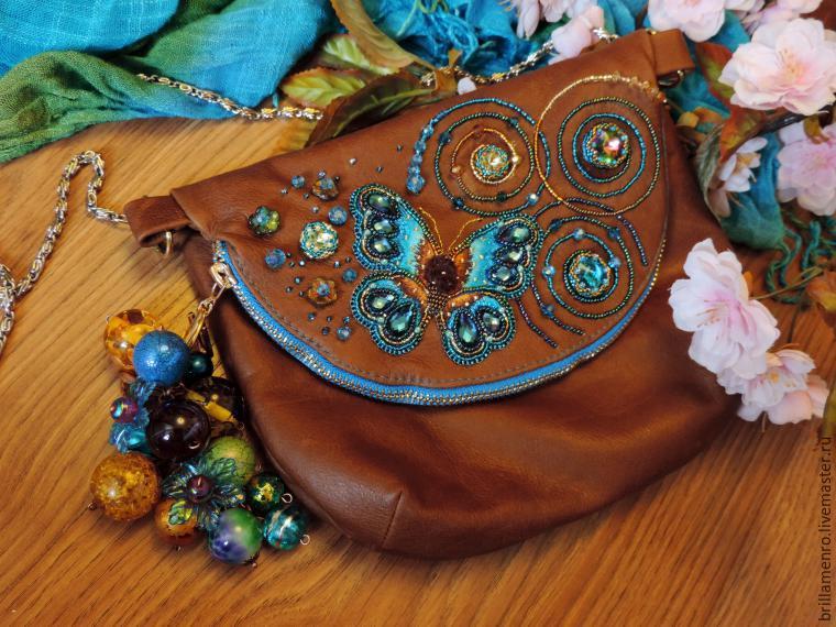 Декорируем сумочку к весенне-летнему сезону