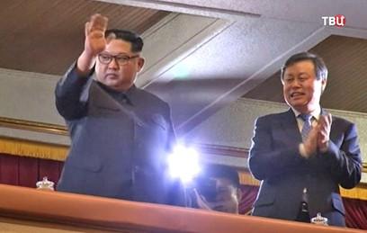 Ким Чен Ын восхитился концертом южнокорейских артистов в Пхеньяне