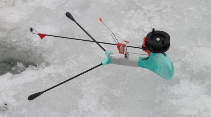 Механическая зимняя удочка своими руками фото