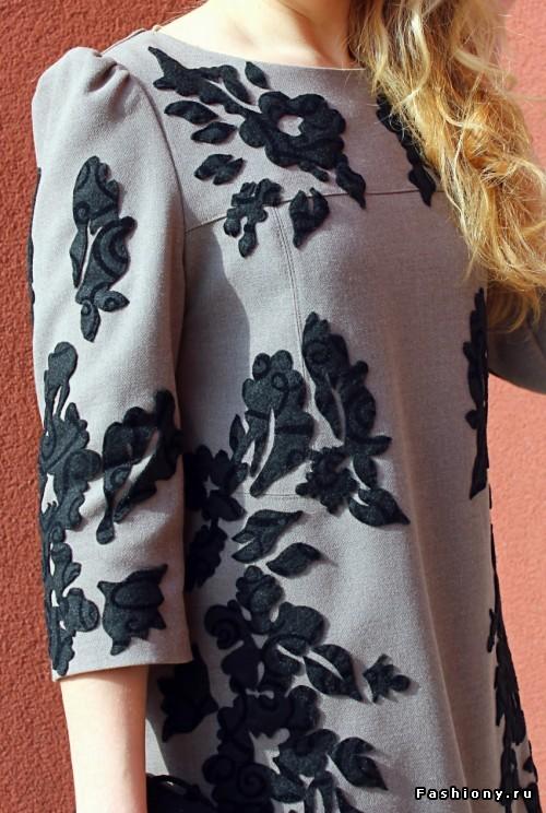 Платье от Дольче & Габбана. Идея декора
