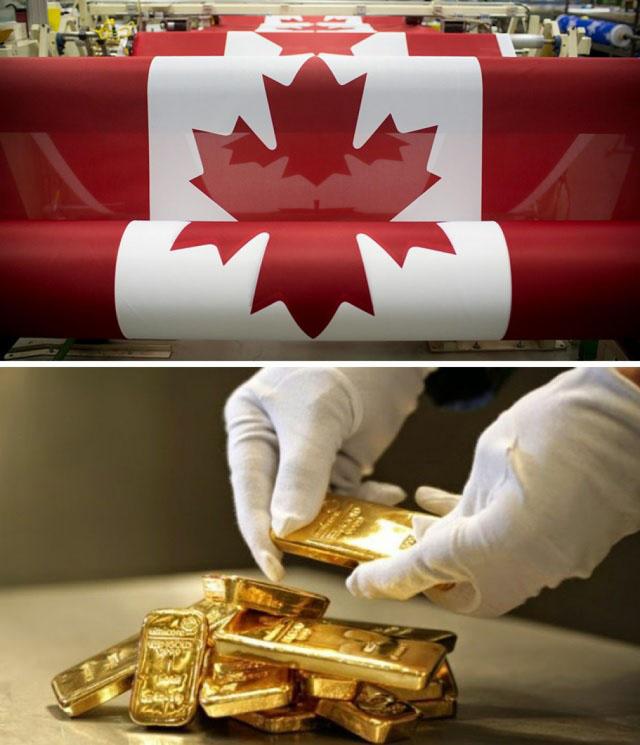 Когда ты ввёл санкции, но что-то пошло не так... Канада исчерпала свой золотой запас