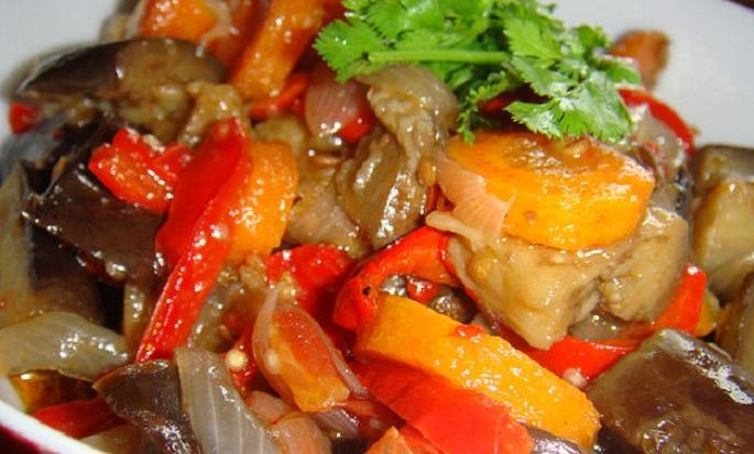 Салат из баклажан по корейски рецепты