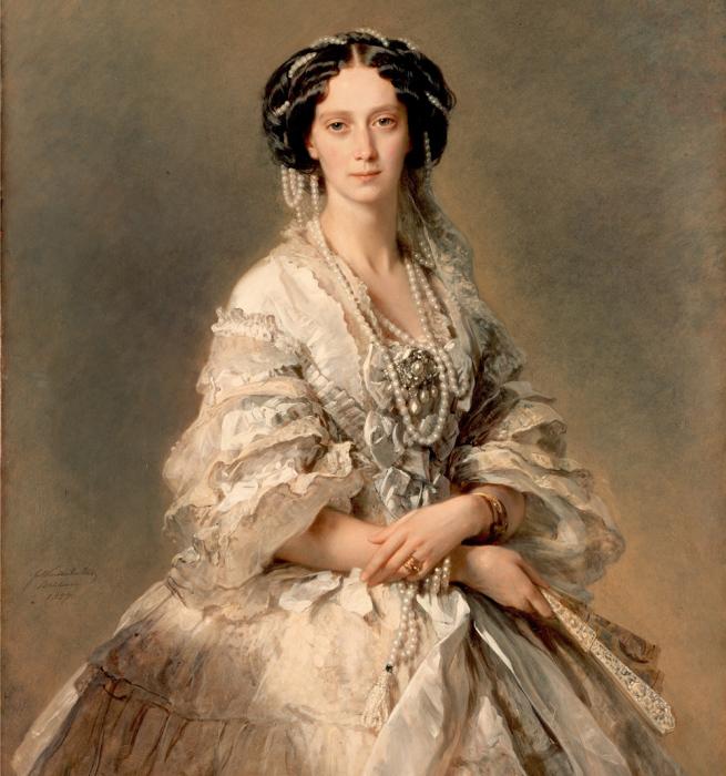 Ф.К. Винтерхальтен, портрет императрицы Марии Александровны