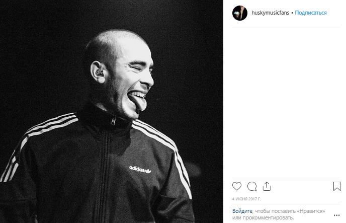 Рэпер Хаски задержан после выступления на крыше автомобиля в Краснодаре