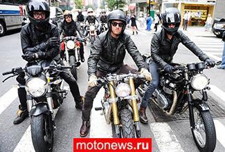 Дэвид Бекхэм представил коллекцию одежды для мотоциклистов