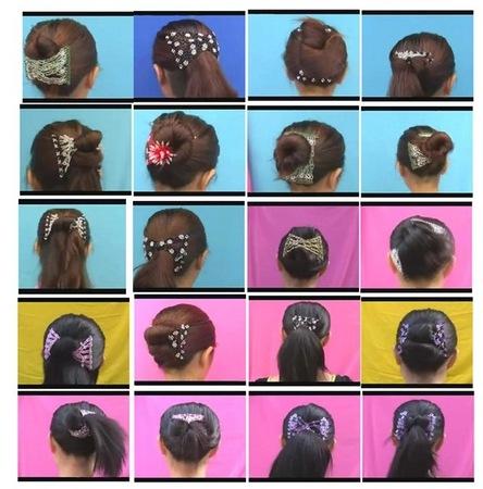 твистер для волос с заколками как пользоваться
