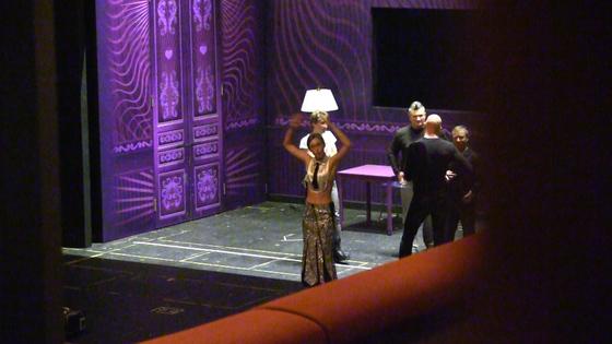 Ксения Собчак на репетиции спектакля «Женитьба»