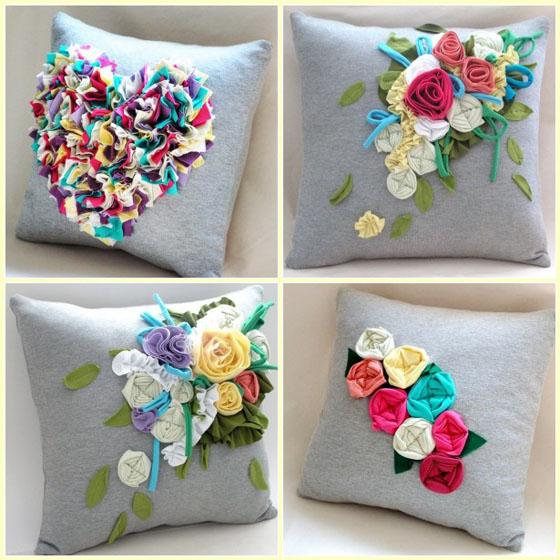 Декоративные подушки своими руками: инструкции по пошиву и фото