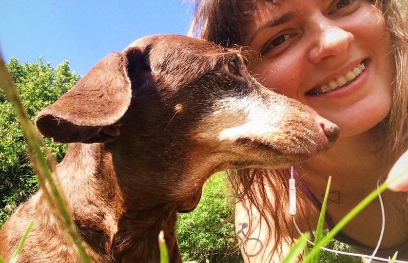 Девушка готовится в велопоход с умирающей собакой, чтобы показать ей мир
