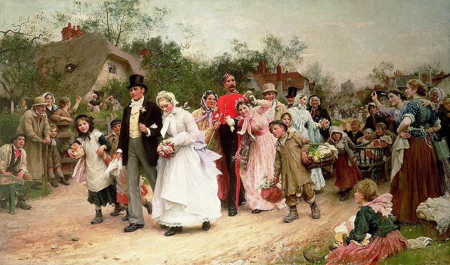 Художник Сэмюэл Люк Филдес (английский художник-иллюстратор, 1843-1927)