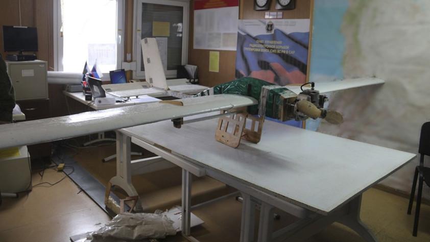 Минобороны опубликовало фотографии атаковавших Хмеймим и Тартус беспилотников с 5 на 6 января