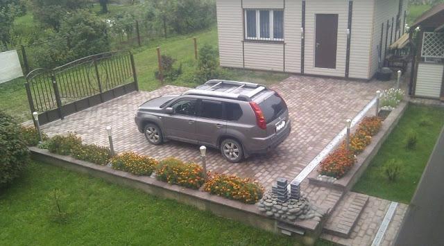 Парковка у дома