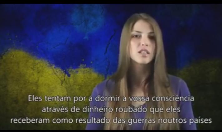 Обращение украинки к мировому сообществу