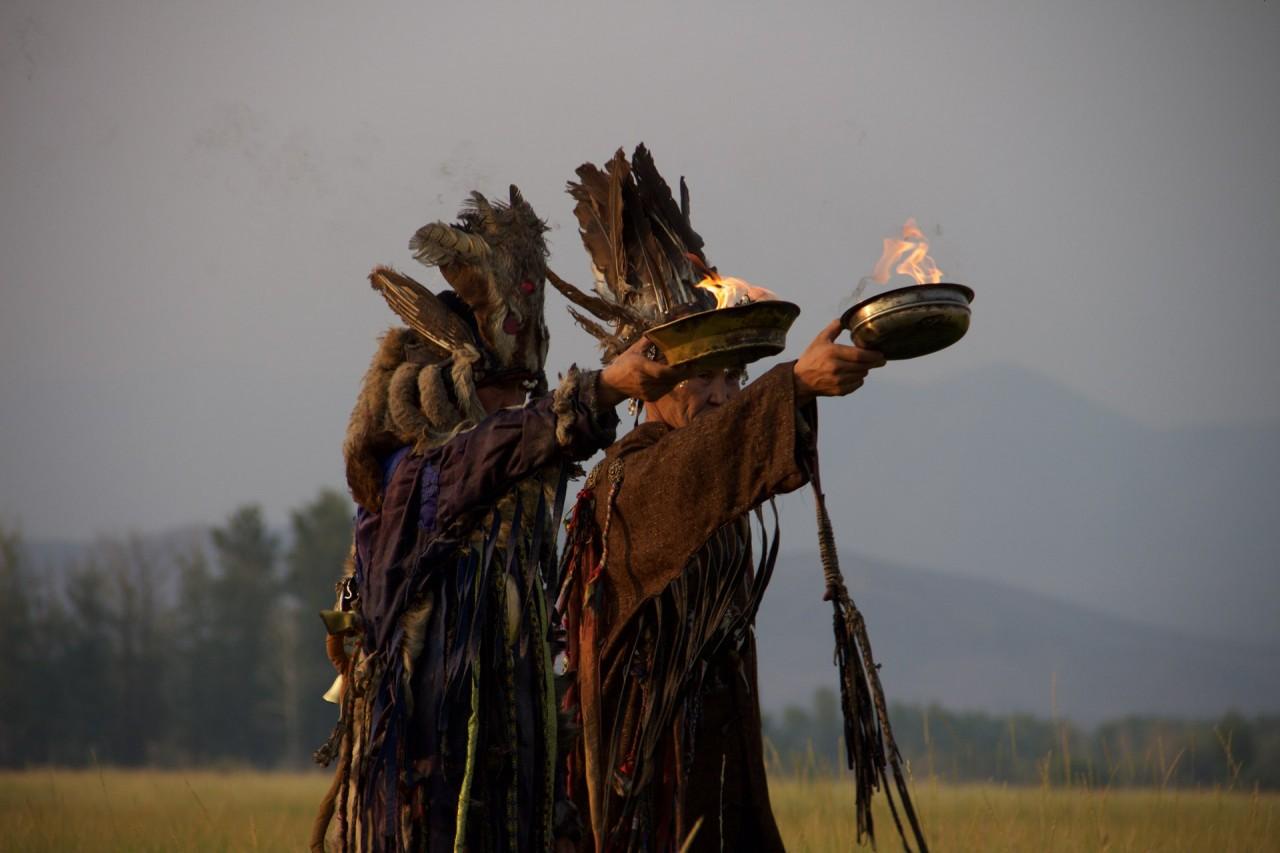 Камлание шаманов