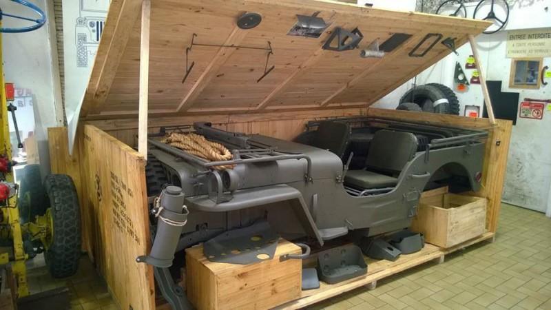 Ничего себе конструктор: Willys MB Jeep в упаковке. Дайте два!