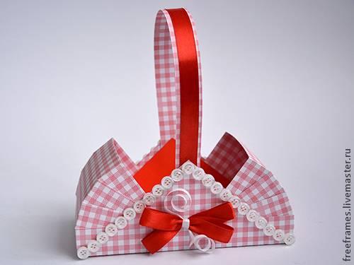 Подарочная корзина своими руками