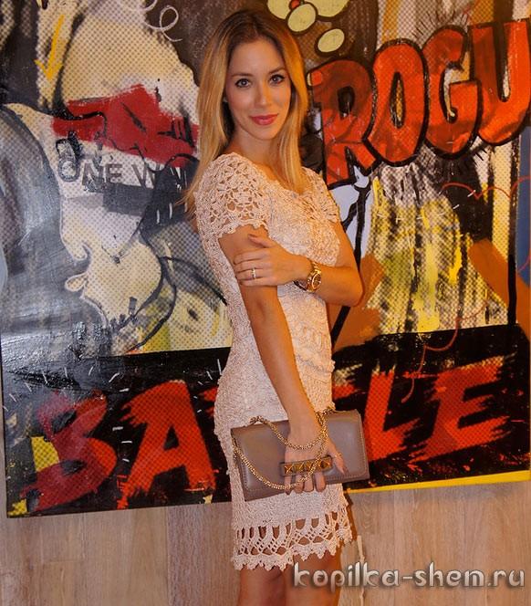 Платье Богема Ванессы Монторо. Схемы вязания