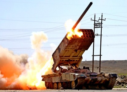Позорные пуски американских ракет по «Солнцепёку» и танку Т-90