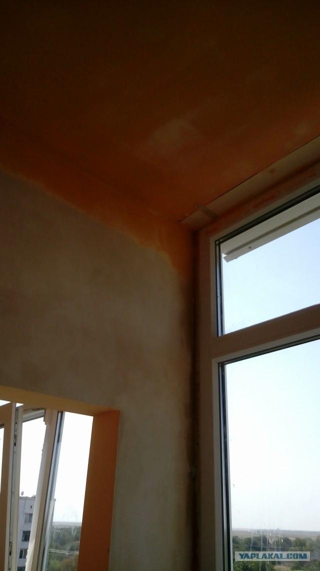 Ремонт балкона тещи за 10 дней