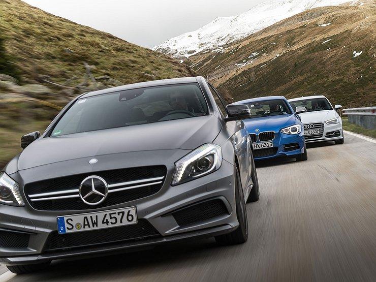 Почему упали российские продажи Mercedes-Benz, BMW и Audi