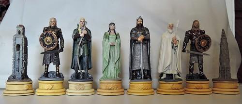 Властелин Колец - белые фигуры
