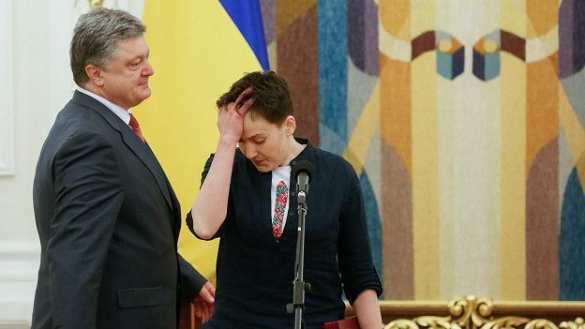 Большинство украинцев видят Савченко президентом, она опережает Порошенко в два раза