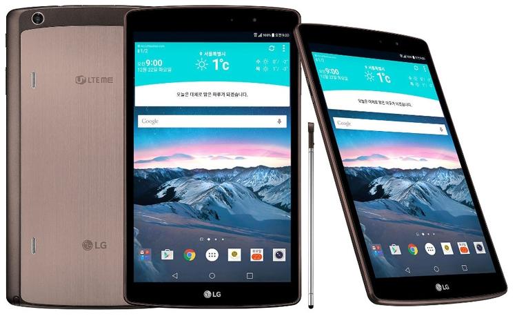 LG G Pad II 8.3 LTE: Android-планшет с поддержкой 4G-связи