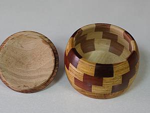 Изготовление деревянной солонки