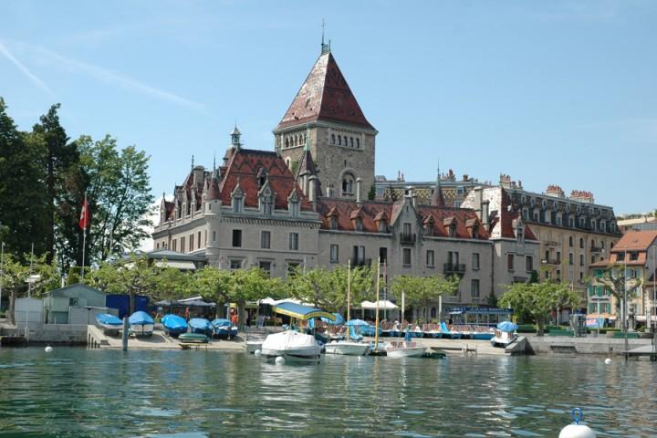 Гостиница Замок Уши (Chateau d'Ouchy)