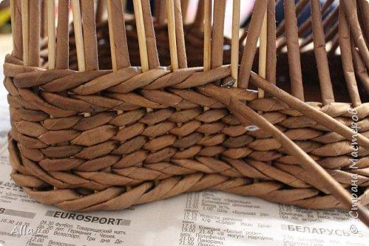 Мастер-класс Поделка изделие Плетение Как я делаю башмак Трубочки бумажные фото 8
