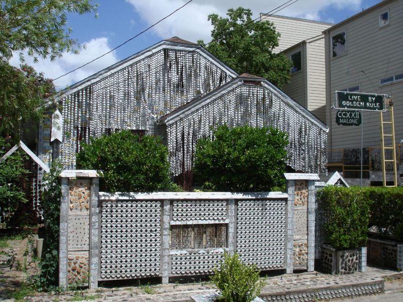 дом из пивных банок