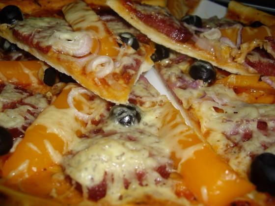 Домашняя пицца от Джейми Оливера - такая же вкусная как в пиццерии!