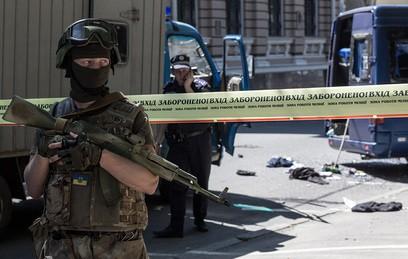 Нападение на офис Добкина квалифицировали как массовые беспорядки