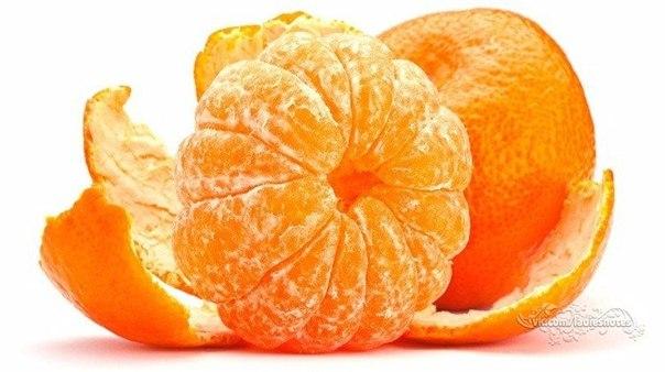 В кожуре мандаринов - огромная польза!