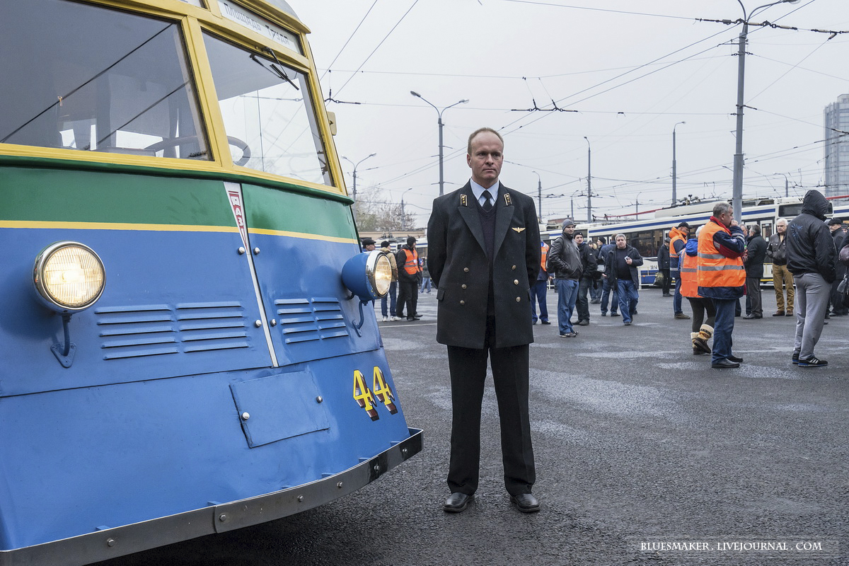 Парад троллейбусов 2015